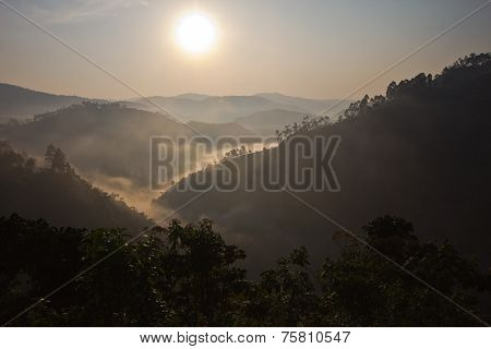 Sunrise in Bwindi