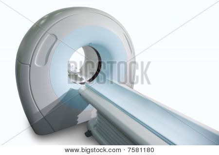 Complete CAT Scan System in a Hospital Environment