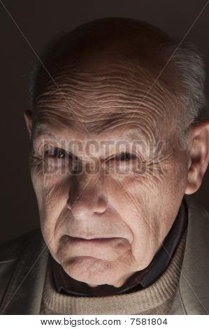 zorniger Mann