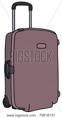 Suitcase on whells