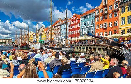 New harbour in Copenhagen, Denmark