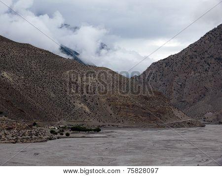 Monsoon In Dry Annapurna Himalayas