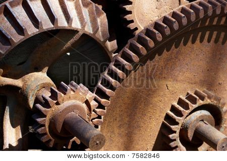 Rusty Gears And Shadows