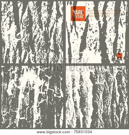 Bark Tree Texture Set
