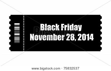 Black Friday Ticket