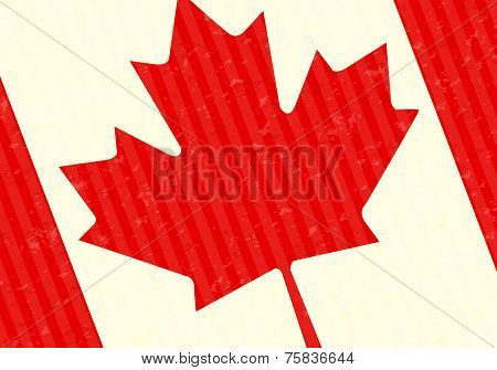 Maple Leaf Canada Flag