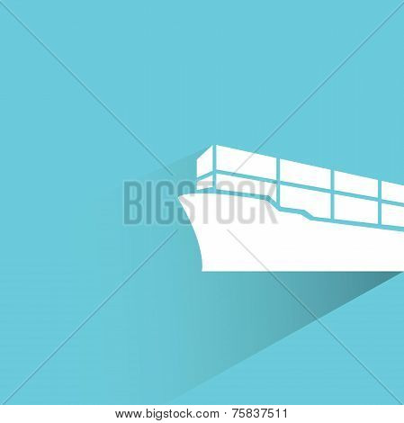 cargo container vessel