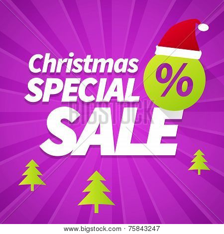 Christmas Special Sale Background