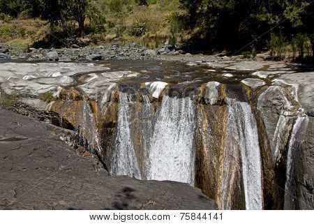 The Trois Roches Waterfall