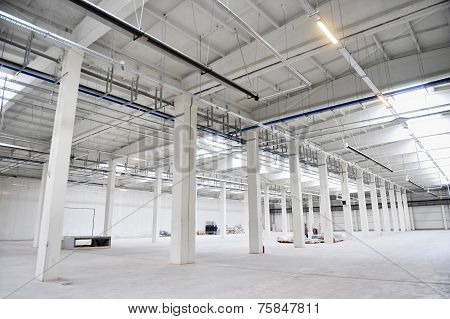 Empty New Storage Depot