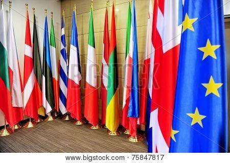 Flags Of European Union States