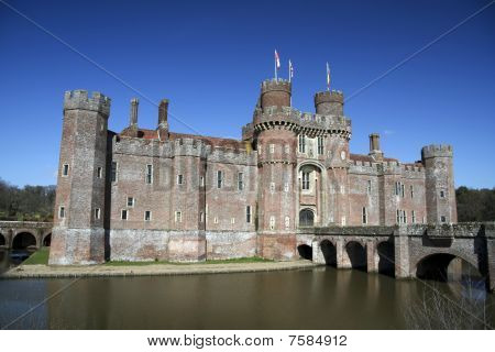 Herstmonceux Castle East Sussex England