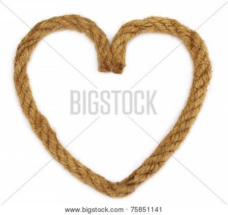 Rope Making A Heart Shape
