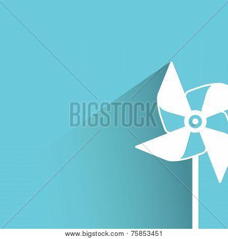 windmill, turbine