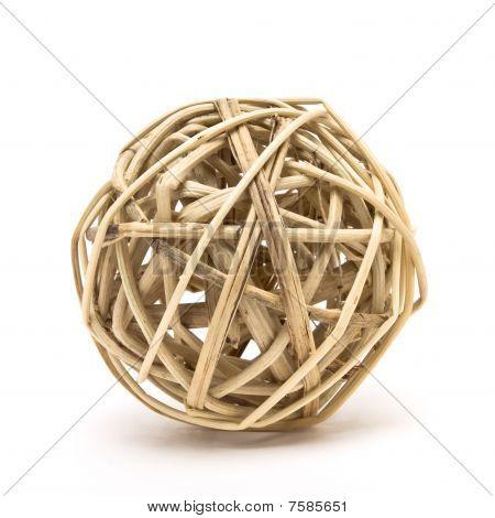 Woven Wood Ball
