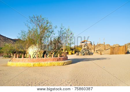 The Village In Desert