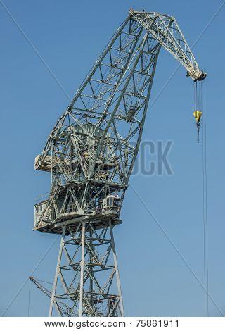 Crane In Gdansk