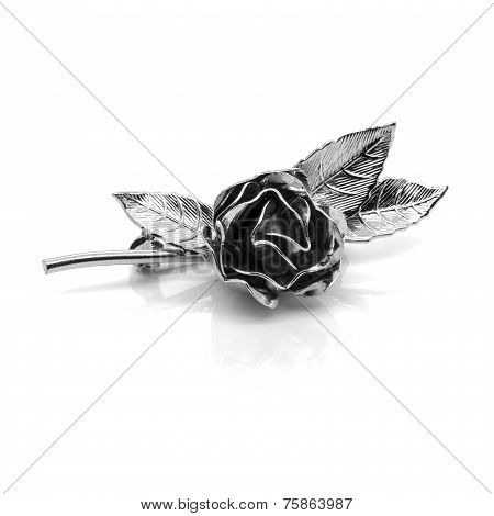 Retro Metal Rose