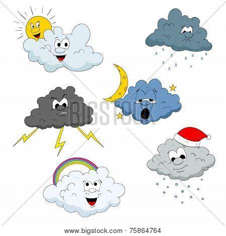 Cloud characters