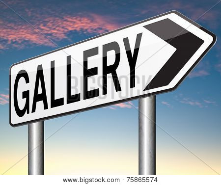 picture gallery wall of pictures photo and image and art exhibition