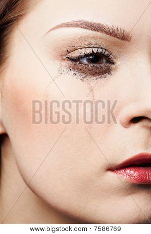 weinendes Mädchen