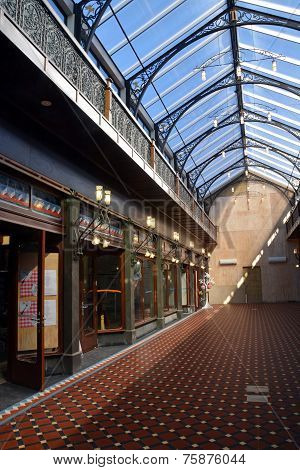 The New Tannery Victorian Style Shopping Arcade, Christchurch