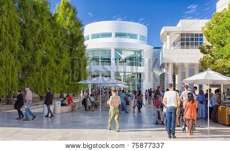 Architectural Features Of The Getty Center