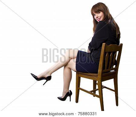 Businesswoman with Heels