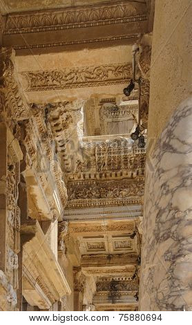 Details Of Intricate Carving And Decoration