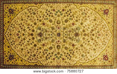Details Of Hand Woven Carpets