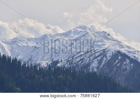 snow mountain in Northern Pakistan