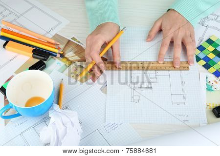 Workplace interior designer