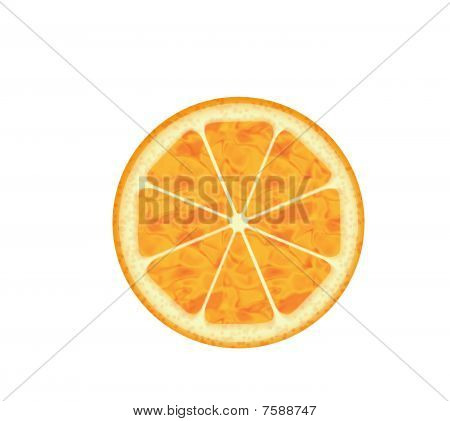 Computer Generated Orange