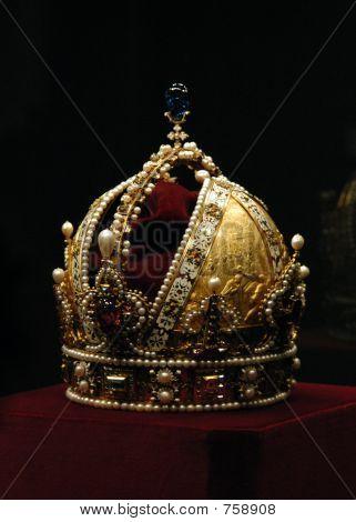 goldene Krone des Kaisers Rudolf ii