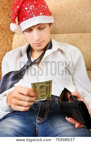 Teenager Checks The Wallet