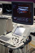 picture of medical equipment  - Medical Equipment ultrasound scanning - JPG