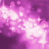 Постер, плакат: Abstract Purple Stars Background Luxury Christmas Holiday