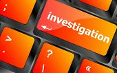stock photo of investigation  - investigation  - JPG
