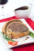 pic of beef wellington  - Beef Wellington  - JPG