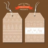 picture of scandinavian  - Christmas Tags or Labels - JPG
