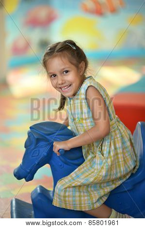 girl with fairground