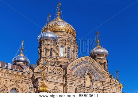 Assumption Church, Vasilevsky Island, St.petersburg