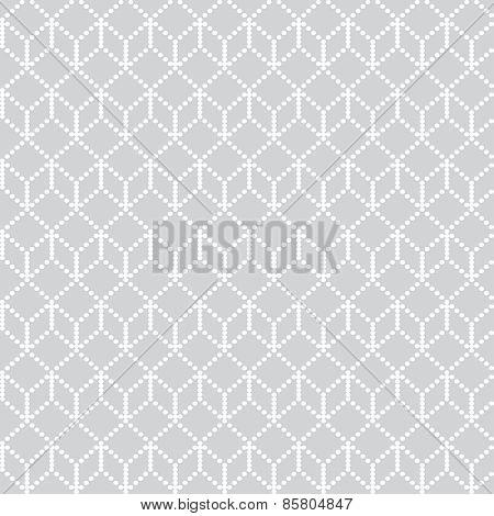 Pixel Geometric Seamless Pattern