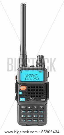 Walkie-talkie Isolated On White Background