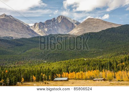 Longs Peak in Colorado