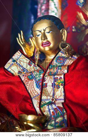 Milarepa Statue, Nepal