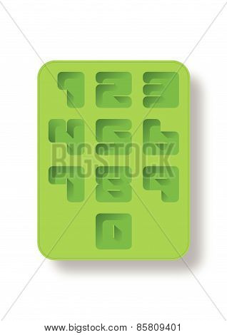 Ice Tray Style Number.