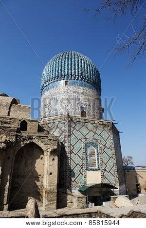 Mausoleum of Emir Timur (Tamerlane) in Samarkand, Uzbekistan
