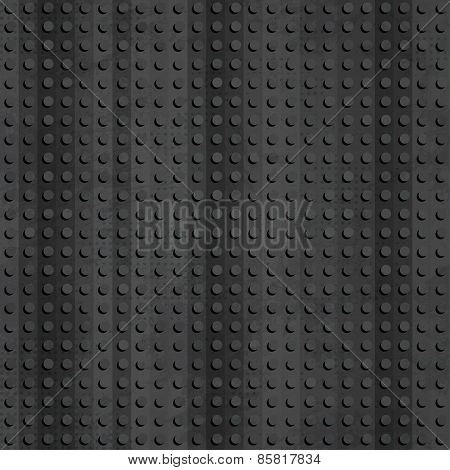Industrial Rubber Seamless Pattern With Grunge Effect