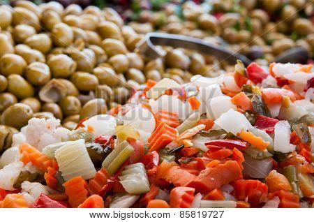 Vegetables Mixture